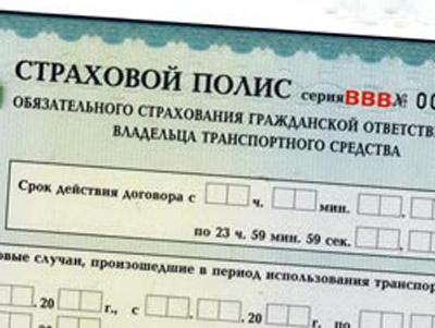 Полис ОСАГО